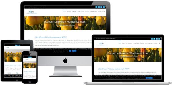 Wordpress Website Voor Webdesigner WPW