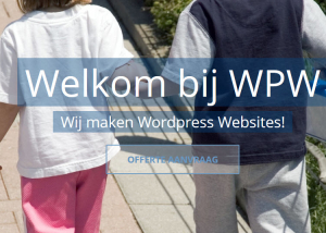 WPW - Wordpress Website maken