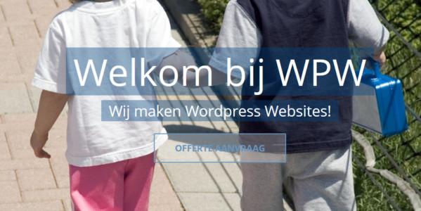 WPW - Wordpress Website maken