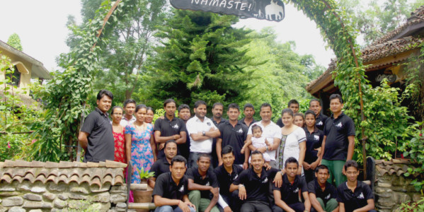 Sapana Lodge Chitwan Nepal Webiste door WPW Wordpress Website Maken