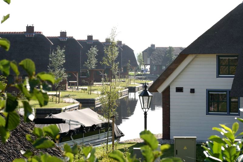 Bungalowpark Waterpark Belterwiede Wanneperveen nabij Giethoorn in Overijssel2