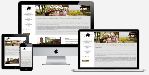 Wordpress Website Sapana Lodge Nepal Guesthouse