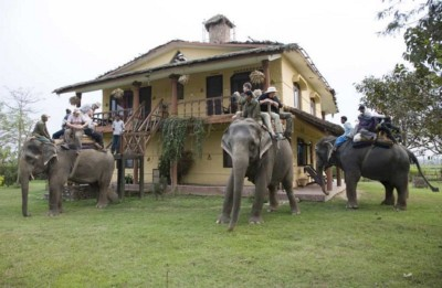 Wordpress website Guesthouse Sapana Lodge Nepal