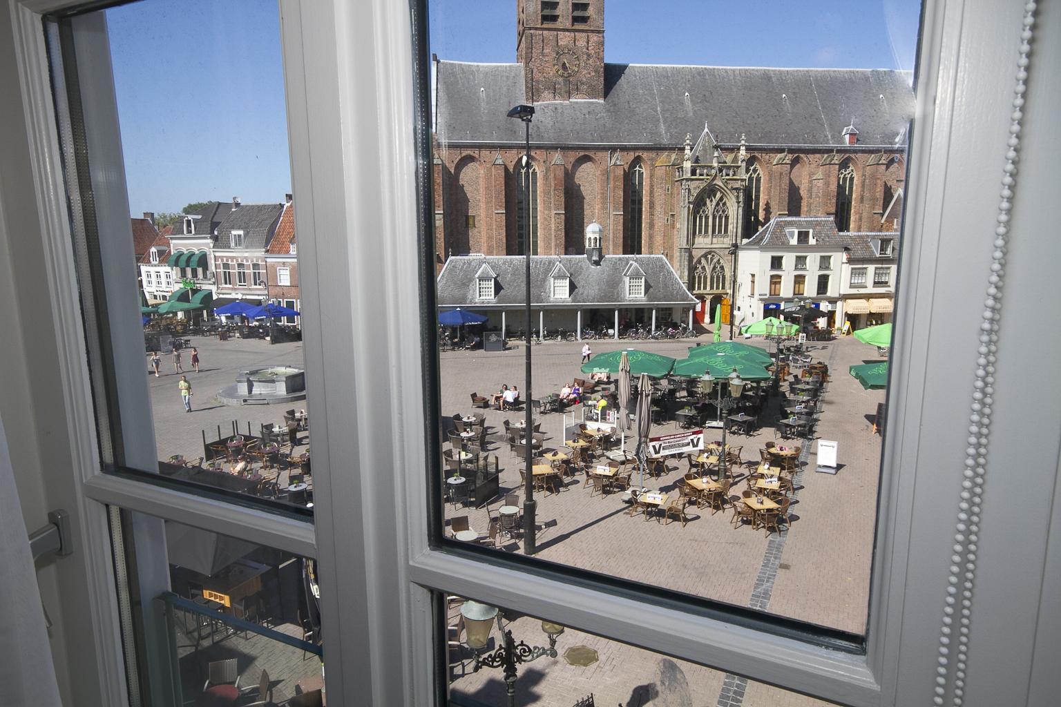 Hotel de Gaaper Amersfoort aan de Hof Amersfoort uitzicht