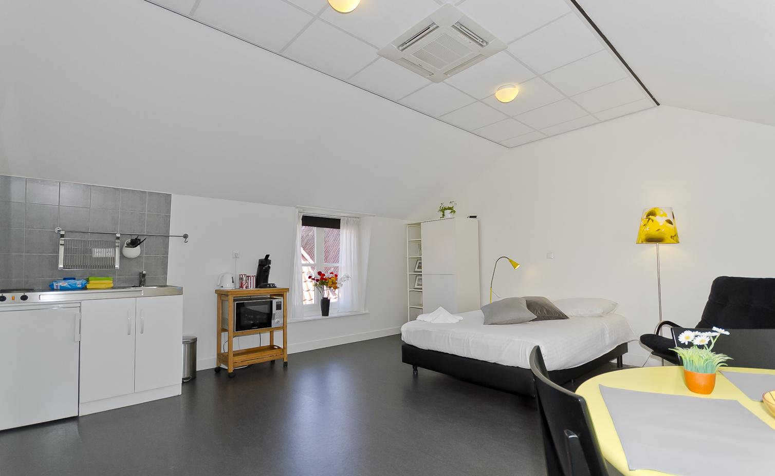Hotel de Gaaper Amersfoort studio's langverhuur