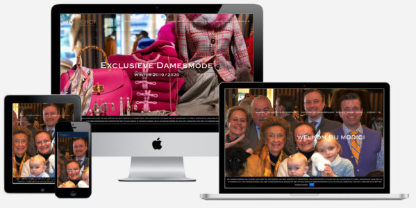 Wordpress Website Modici Damesmode Laren