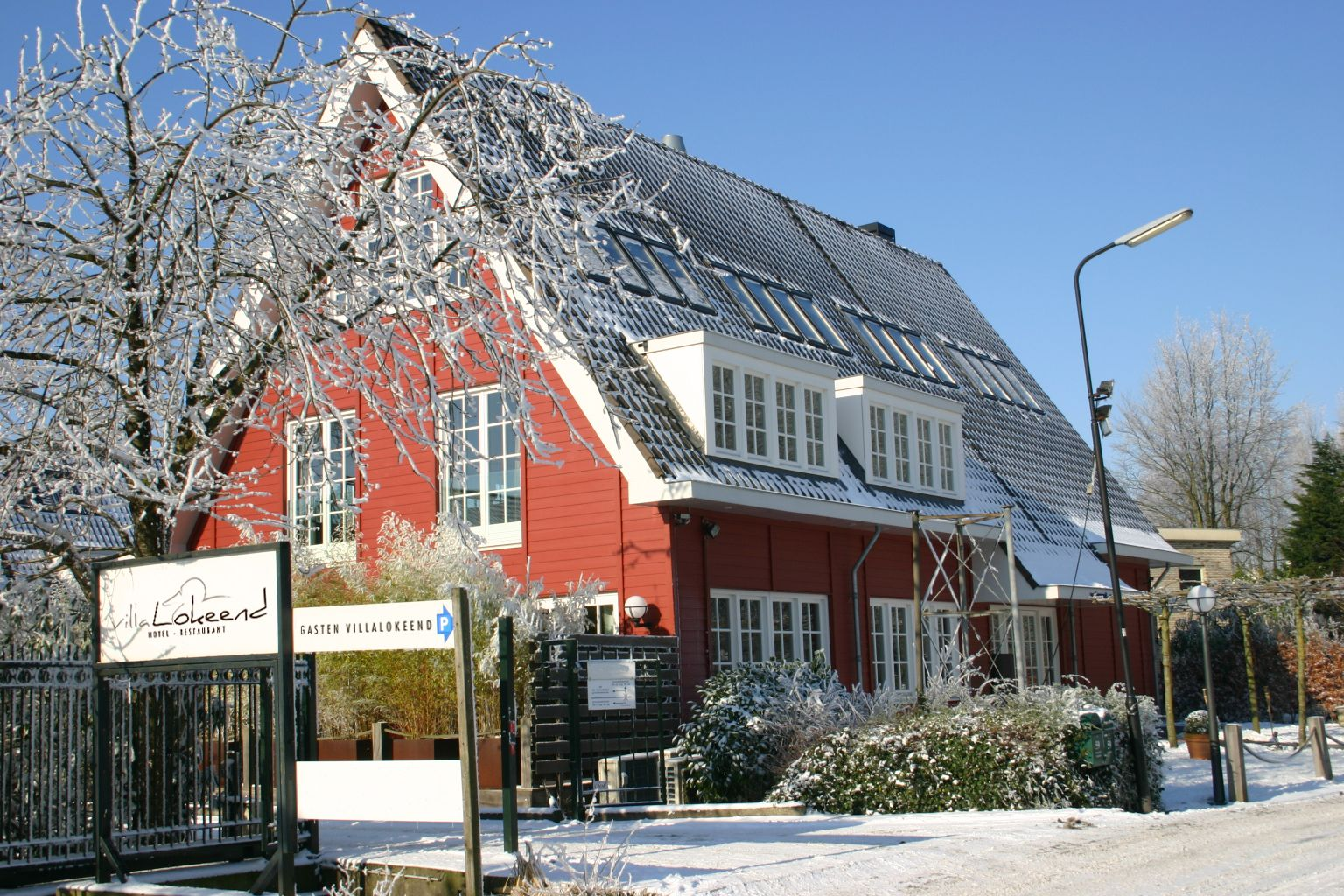 Wordpress website Hotel Restaurant Villa Lokeend Vinkeveen