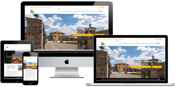 Wordpress Website Vakantiehuis Toscane