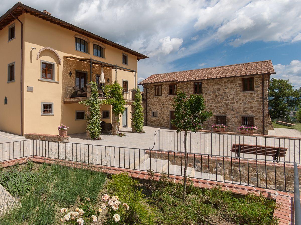 Vakantiehuizen website met wordpress - Toscane Borgo La Casa