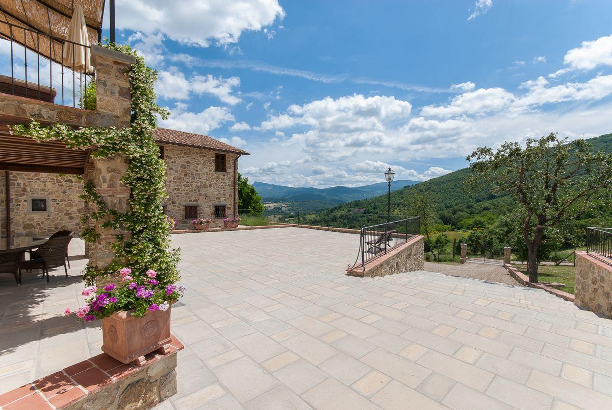 Wordpress website vakantiehuizen Toscane met zwembad