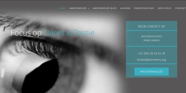 Focus Op Talent En Passie