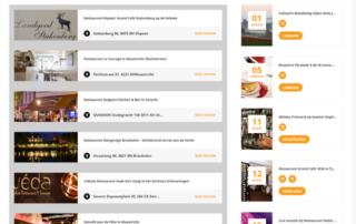 Wordpress website Bijzonder Uit Eten