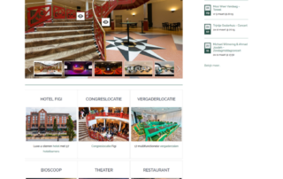 Wordpress website Hotel Theater Figi Zeist Utrecht