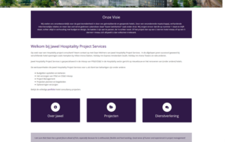 Wordpress website consultant - Jawel Hospitality