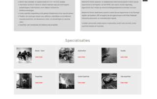Wordpress website Nederlof En Partner