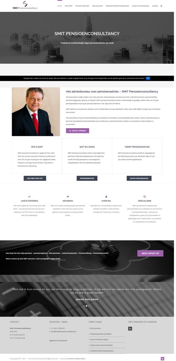 wp website maken