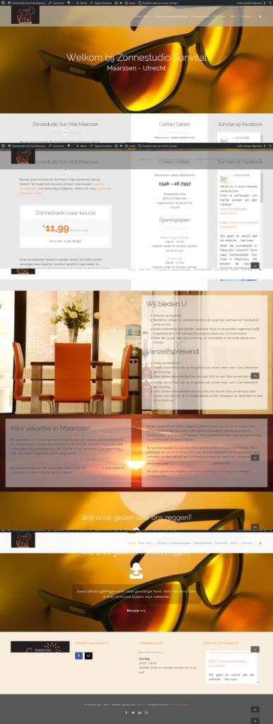 Wordpress Website Voor Zonnestudio SunVital