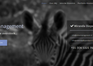 Zebra Management Wordpress Website