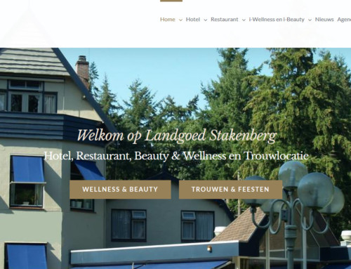 Nieuwe WordPress website Veluwe Hotel Stakenberg – Elspeet