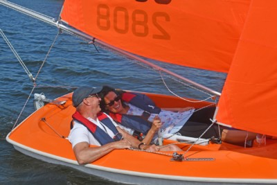 Roos Prommenschenckel zeilt met Sailability