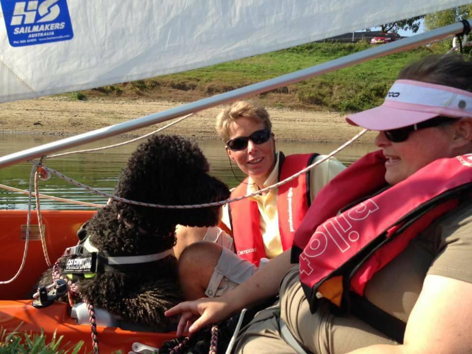 Zeilen Met Beperking Sailability
