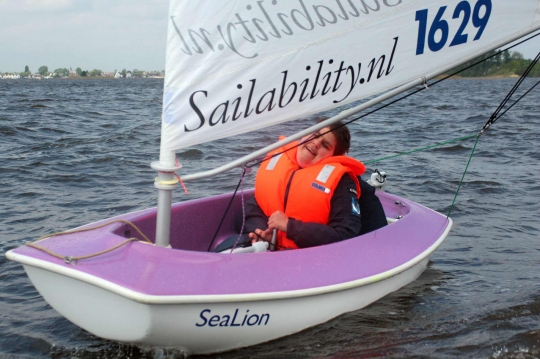 Vrijwilligersdag Sailability Zeilen Met Een Handicap