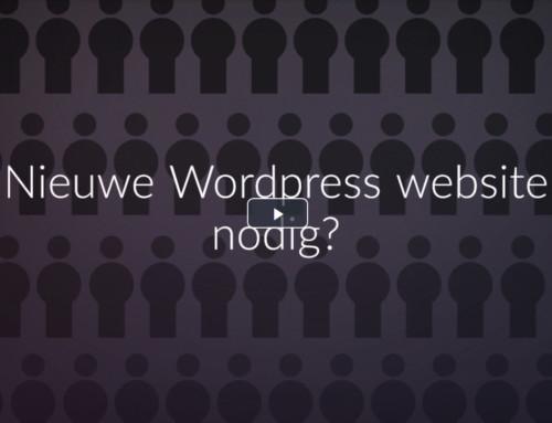 Nieuwe WordPress website nodig? Of aan de slag met de bestaande site