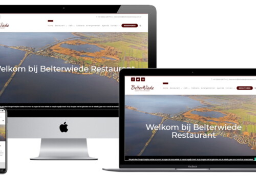 WordPress Website voor Belterwiede Restaurant Wanneperveen