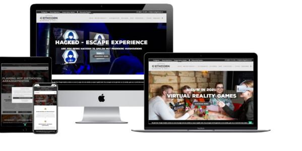 Wordpress website voor Eetcafe Giethoorn Burgers & Grill