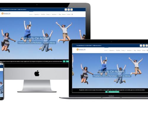 WordPress Website voor horeca advies bureau Hands-On