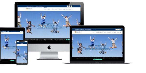 Wordpress website voor Hands On Advies Janneke Nijenhuis Freelance Online Marketeer