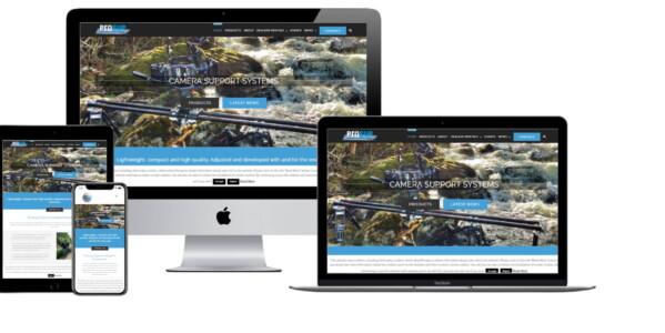 Wordpress website voor Prosup Professional Camera Equipment