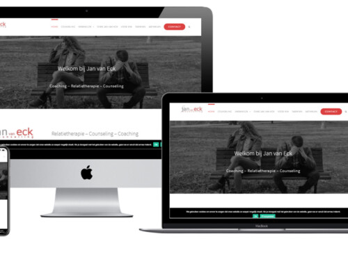 WordPress Website voor relatietherapeut Jan van Eck live