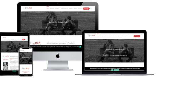 Wordpress website voor Relatietherapeut Alphen Aan Den Rijn Jan Van Eck