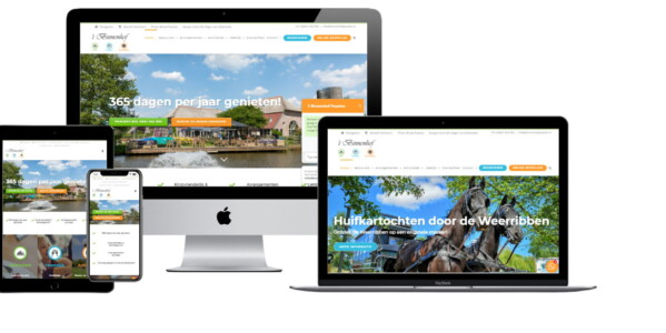 Wordpress website voor Restaurant Binnenhof Paasloo Bij Steenwijk