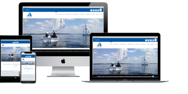 Wordpress website voor Sailability Zeilen Met Een Handicap