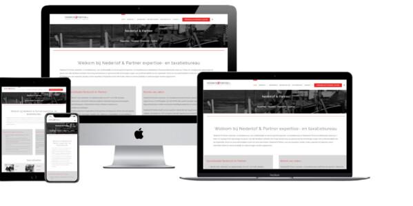 Wordpress website voor Taxatiebureau Nederlof En Partner