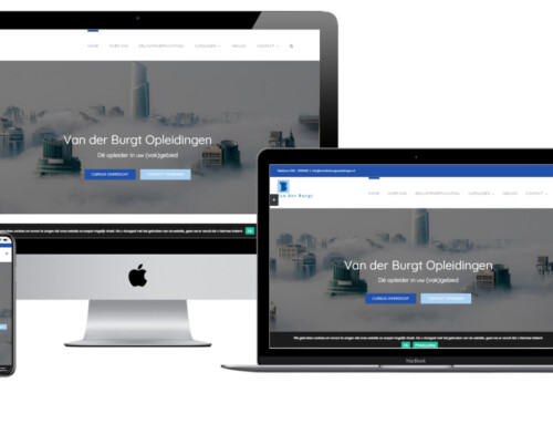 Permanente educatie makelaars en taxateurs kiest WordPress website