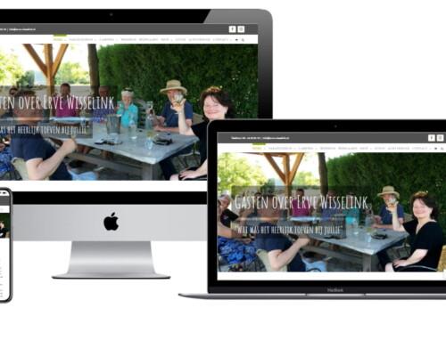 Wijndomein Erve Wisselink kiest voor WordPress website