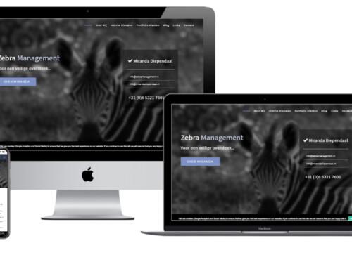 Interim manager Zebra Management kiest WordPress site van WPW