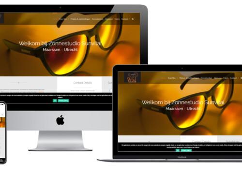 Nieuwe WordPress website voor Zonnestudio SunVital – Maarssen