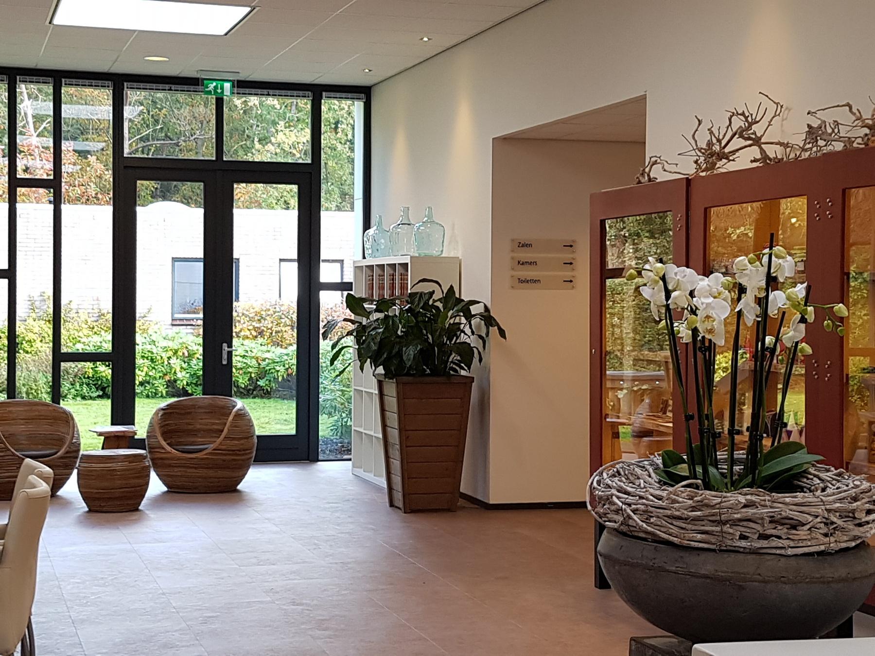Lobby Hotel Fredeshiem Steenwijk