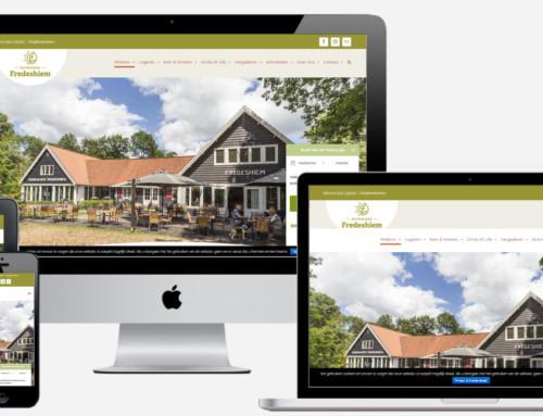 Nieuwe WordPress Website voor Buitengoed Fredeshiem