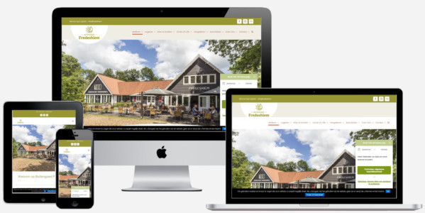 Wordpress Website Voor Buitengoed Fredeshiem