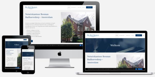 Wordpress Website Voor Notaris Bosman Badhoevedorp