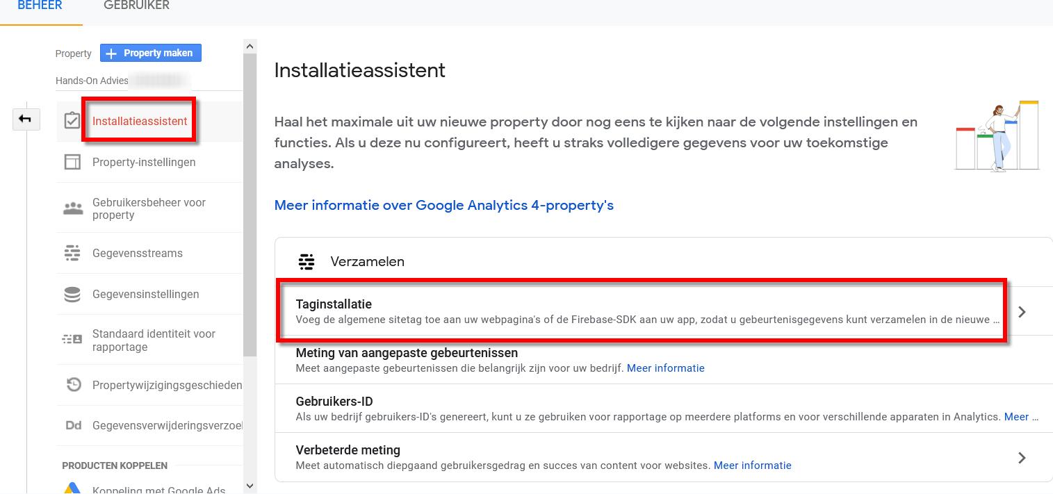 Google Analytics GA4 Tracking Code Installeren