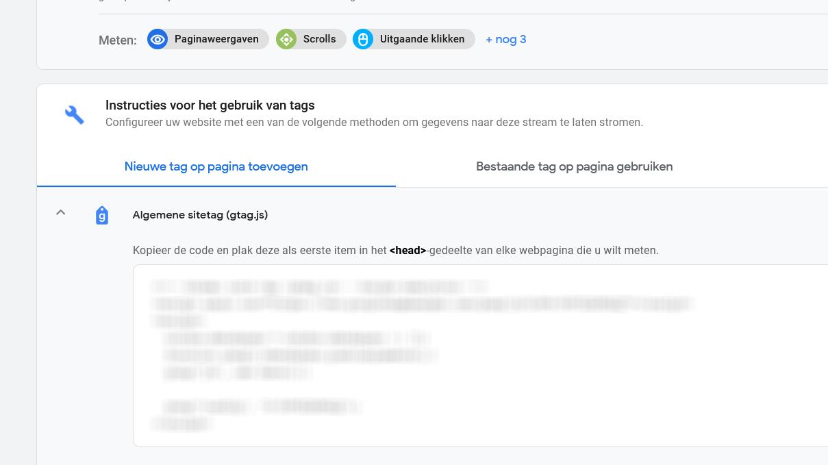 Google Analytics G4 - Integratie Analytics op Website