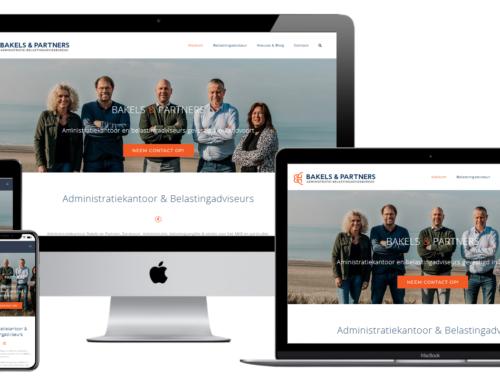 WordPress site Belastingadviseur en administratiekantoor