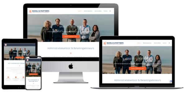 Wordpress website voor Wordpress Website Belasting Advies En Administratiekantoor Bakels En Partners Zandvoort