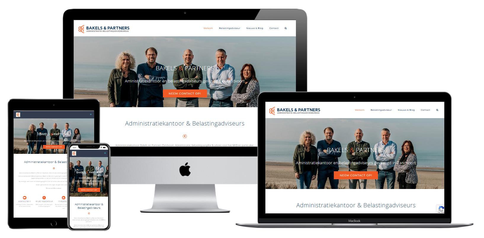 Wordpress Website Belasting Advies En Administratiekantoor Bakels En Partners Zandvoort